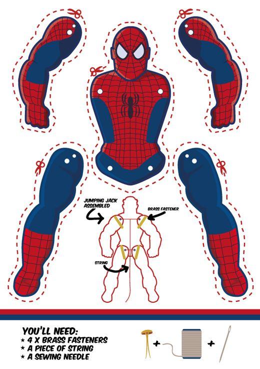 Spiderman Quatrigrafic