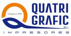 logo quatrigrafic imprenta online nuevo