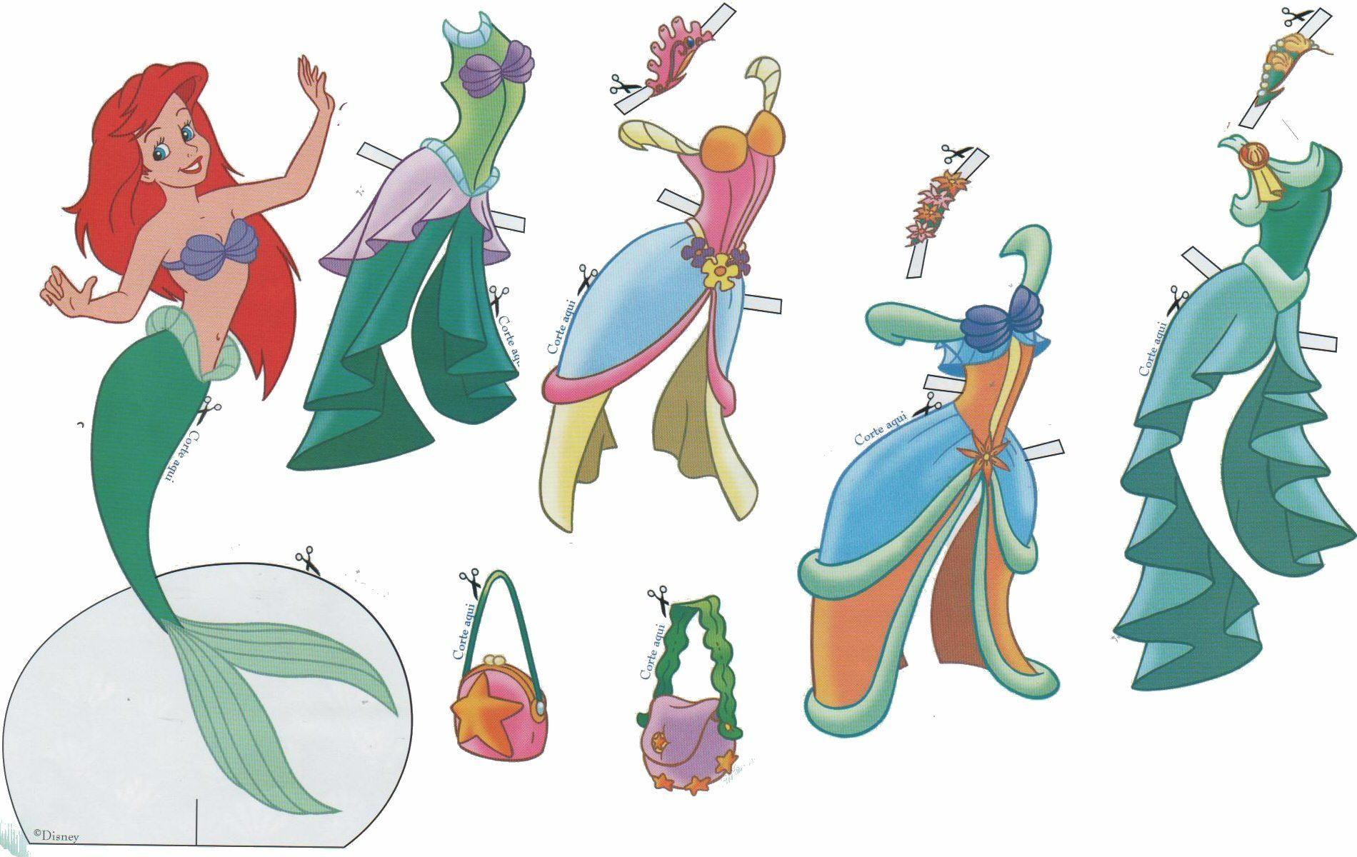 Sirenita Disney